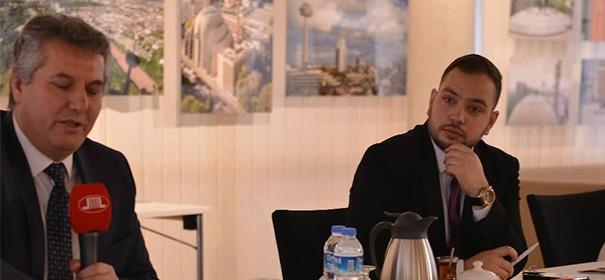 Zekeriya Altuğ und DITIB-Generalsekretär Abdurrahman Atasoy © DITIB, bearbeitet by iQ.