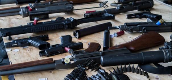 Verfassungsschutz: Zahlreiche Überprüfungen von Waffenbesitzern © Shutterstock, bearbeitet by iQ