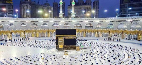 Muslime führen die Umra durch © AA, bearbeitet by iQ.