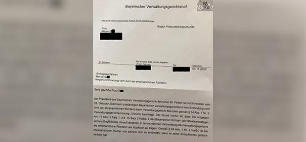 Kopftuchverbot: Ehrenamtliche Richterin wird suspendiert ©privat, bearbeitet by iQ