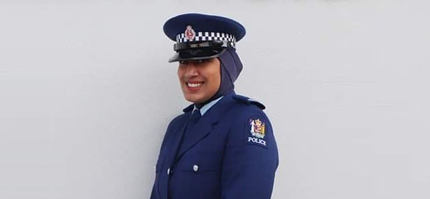 Kopftuch in Uniform neuseeland