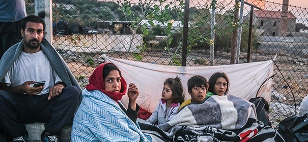 Lesbos Flüchtlingslager (c)facebook, bearbeitet by iQ