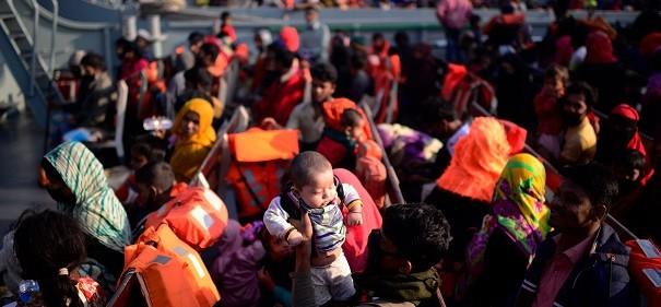 Rohingya-Umsiedlung
