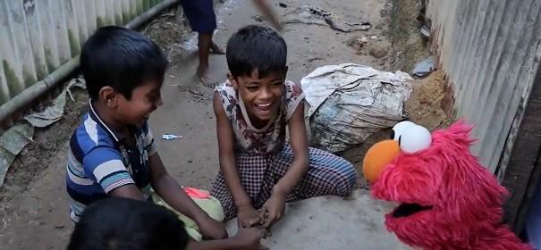 Sesamstraße Rohingya