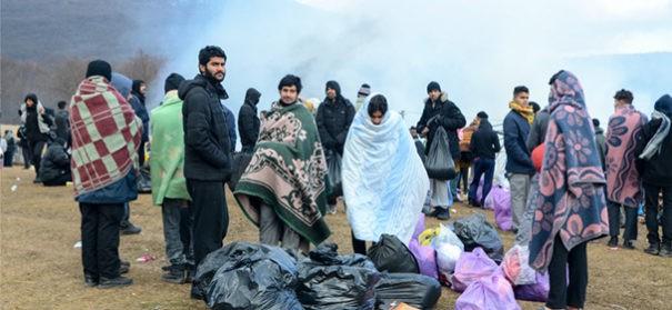 Lage der Geflüchteten in Bosnien