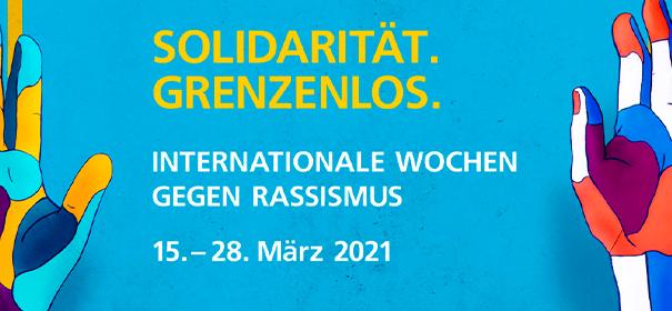 Internationale Wochen gegen Rassismus © Stiftung gegen Rassismus, bearbeitet by iQ.