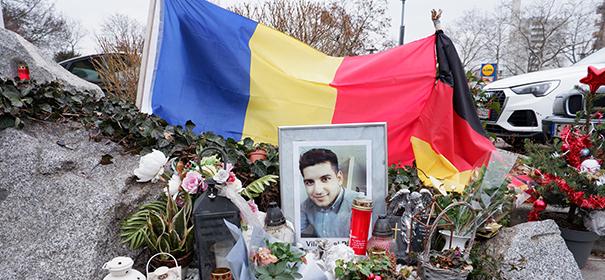 Medaille für Zivilcourage für Hanauer Anschlagsopfer Vili Viorel Păun