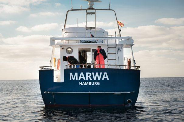 Mission Lifeline bennent Schiff nach Marwa El-Sherbini (c)facebook, bearbeitet by iQ