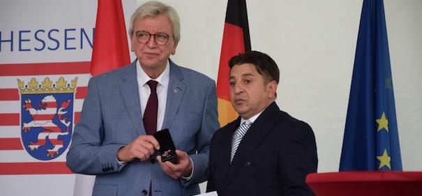 Anschlagsopfer von Hanau - Medaille für Zivilcourage