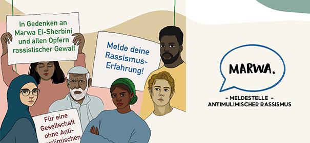 Neue Meldestelle für islamfeindliche Vorfälle in Hamburg © Nursima Nas, bearbeitet by iQ.