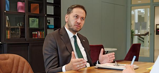 IGMG-Generalsekretär Bekir Altaş