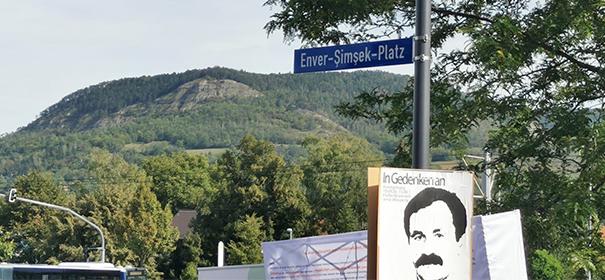 Symbolbild: Enver-Şimşek-Platz in Jena
